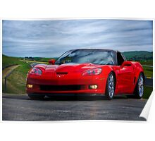 2009 Corvette ZR1 Roadster Poster
