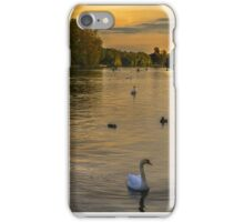 Thames Sunset At Marlow Buckinghamshire iPhone Case/Skin
