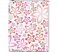 tender floral pink seamless pattern iPad Case/Skin