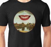 One Must Imagine Vermeer Happy (Roundel) Unisex T-Shirt