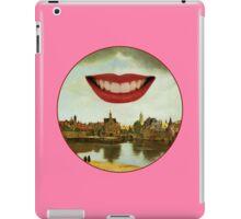One Must Imagine Vermeer Happy (Roundel) iPad Case/Skin