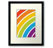 A Rainbow World Framed Print
