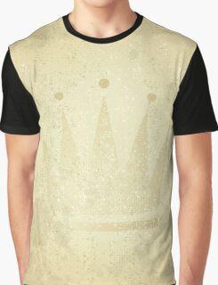 retro crown, grunge illustration Graphic T-Shirt