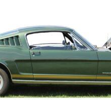 Side on Mustang Sticker