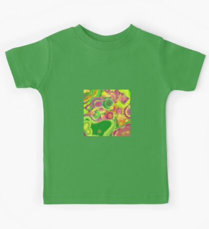 Colours of Spring 1 - Diffused Garden Kids Tee