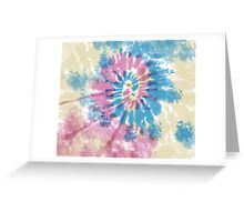 Spiral Surf Greeting Card