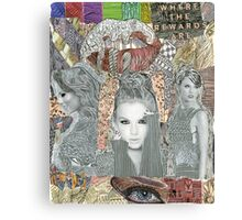 Taylor Swift Collage #1 Canvas Print
