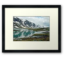 Gamle Strynefjellsvegen - Norway Framed Print