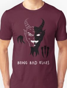 Being Bad Rules [RED] T-Shirt