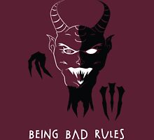 Being Bad Rules [RED] Classic T-Shirt
