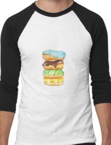 Stack Of Donuts Men's Baseball ¾ T-Shirt
