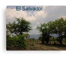 El Salvador Canvas Print