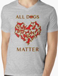 ALL DOGS MATTER <3 Mens V-Neck T-Shirt