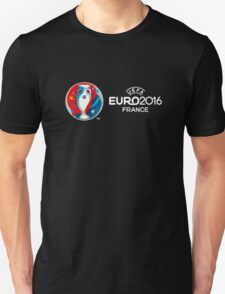 Euro 2016 Black T-Shirt