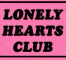 Lonely Hearts Club Ticket Sticker