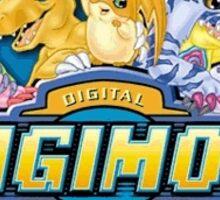 Digimon Group Sticker Sticker