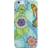 Zen Nympheas iPhone Case/Skin