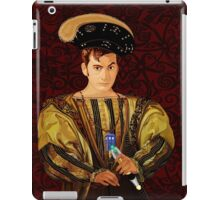 time traveller long time ago parody iPad Case/Skin