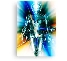 Star Light Robot Canvas Print