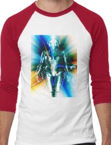 Star Light Robot Men's Baseball ¾ T-Shirt