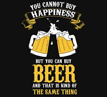 Beer and Happiness Unisex T-Shirt