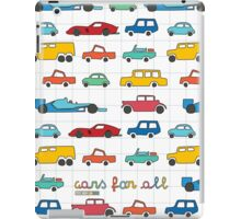 Cars for all iPad Case/Skin