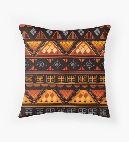 Boho Geometric Pattern Throw Pillow