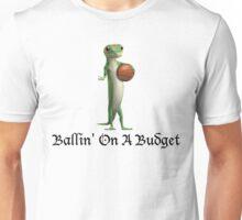 Geico Gecko Ballin' On A Budget Unisex T-Shirt
