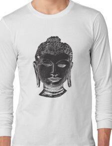 Buddha Drawing Long Sleeve T-Shirt