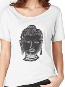 Buddha Drawing Women's Relaxed Fit T-Shirt