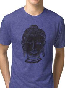 Buddha Drawing Tri-blend T-Shirt
