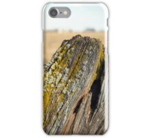 Old Post Fence iPhone Case/Skin
