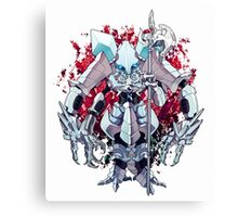 Armored Chibi - Overlord Canvas Print