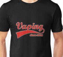 Vape Design Swoosh Vaping Since 2015 Unisex T-Shirt