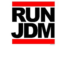 RUN JDM Photographic Print