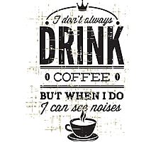 Coffee Love Photographic Print