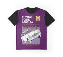 Haynes Manual - Flying Ford Anglia - T-shirt Graphic T-Shirt