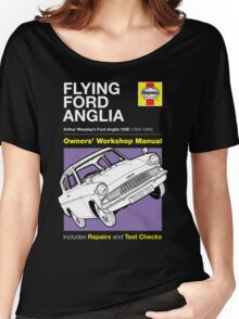 Haynes Manual - Flying Ford Anglia - T-shirt Women's Relaxed Fit T-Shirt