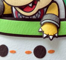 Bowser Jr. in his clown car! Sticker