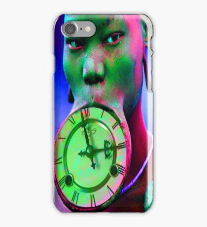 The illusion of Time iPhone Case/Skin