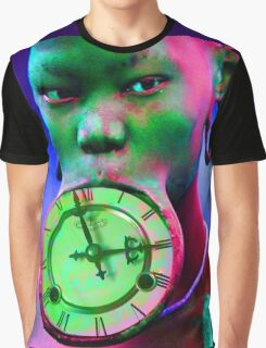 The illusion of Time Graphic T-Shirt