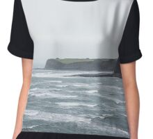 Kimmeridge Storm Chiffon Top