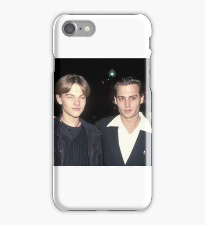 Leonardo DiCaprio and Johnny Depp iPhone Case/Skin