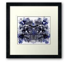 Blue Blood Framed Print