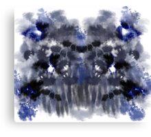 Blue Blood Canvas Print