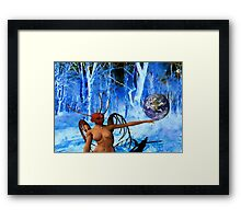 Surreal World Framed Print