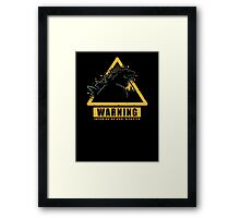 Incoming Natural Disaster! Framed Print