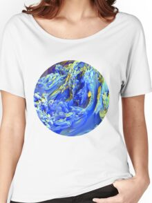 Landscape Abstract Women's Relaxed Fit T-Shirt