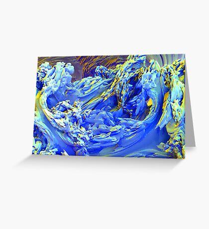 Landscape Abstract Greeting Card