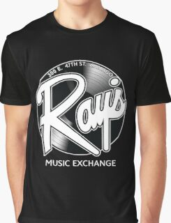 Ray's Music Exchange - Straight Exchange Logo Graphic T-Shirt